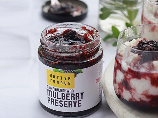 NativeTongue - Mulberry Preserve (210gms)