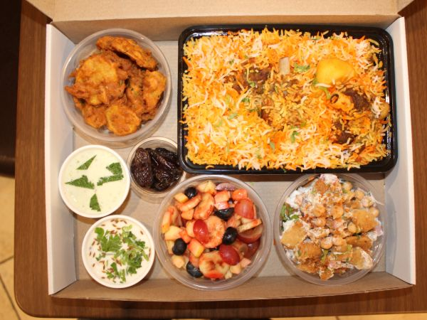 DumPukht Iftar Box (Meal for Two) Mutton Combo