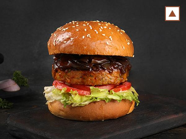 Chicken Single Patty Burger