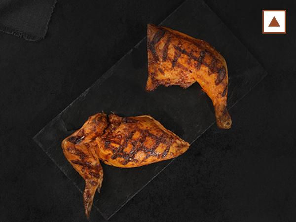 Half Grilled Chicken