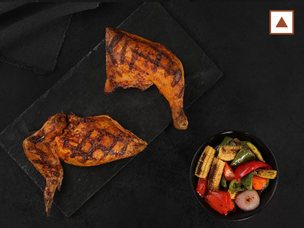 Half Grilled Chicken with 1 side