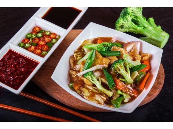 Chicken Chilli Vegetable