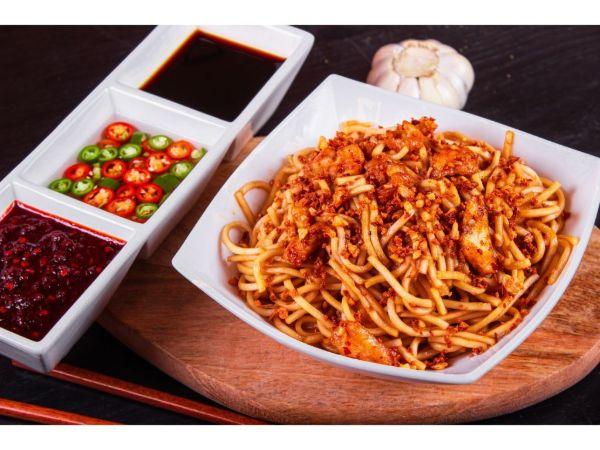 Chicken Garlic Noodle