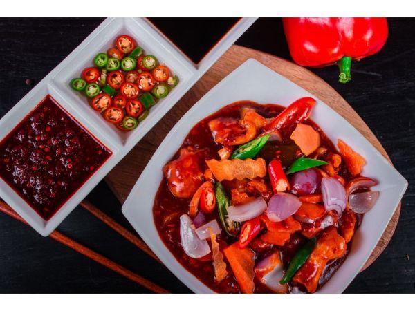 Chicken Szechuan Sauce