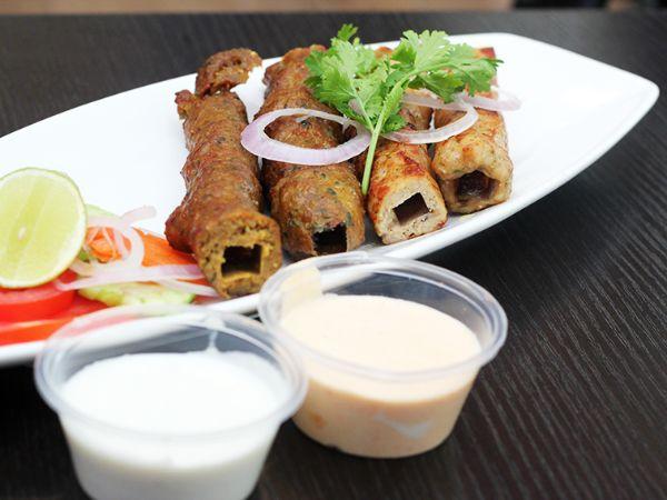 Mutton Seekh Kebab [4 Pcs]