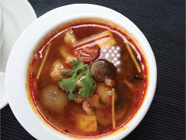 Tom Yum Soup Prawn