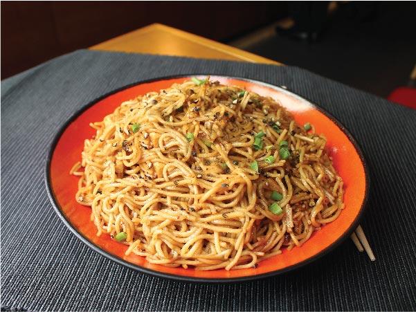 Black Pepper Noodles