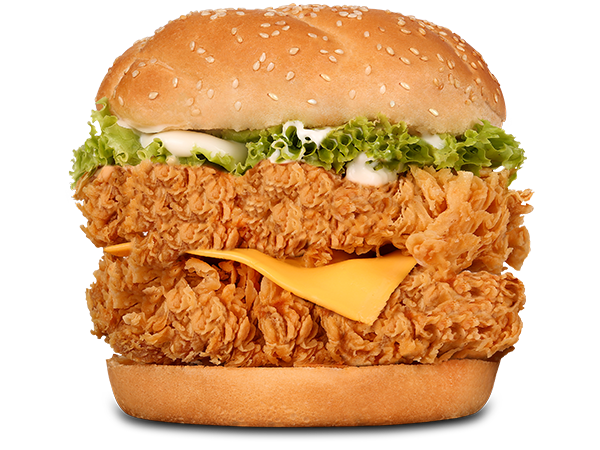 Mighty Cheese & Jalapeno Clucker