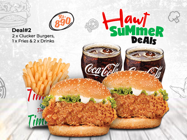 2 Cluckers Offer