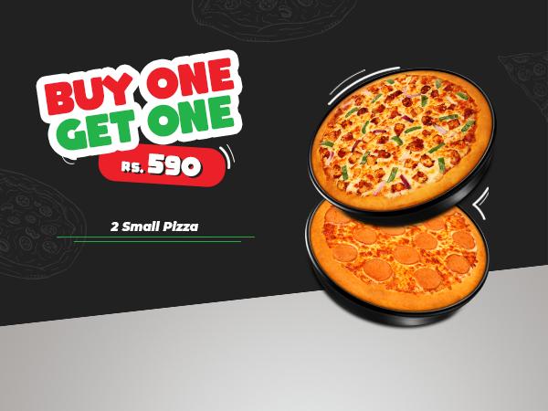 BOGO Small Pizza Offer