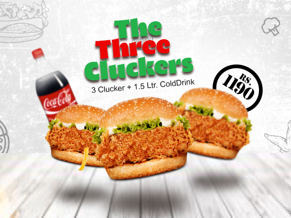 The Three Cluckers