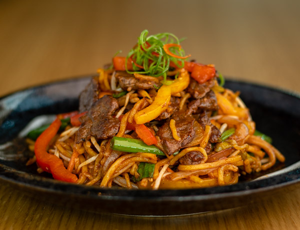 Nummy Beef Noodles