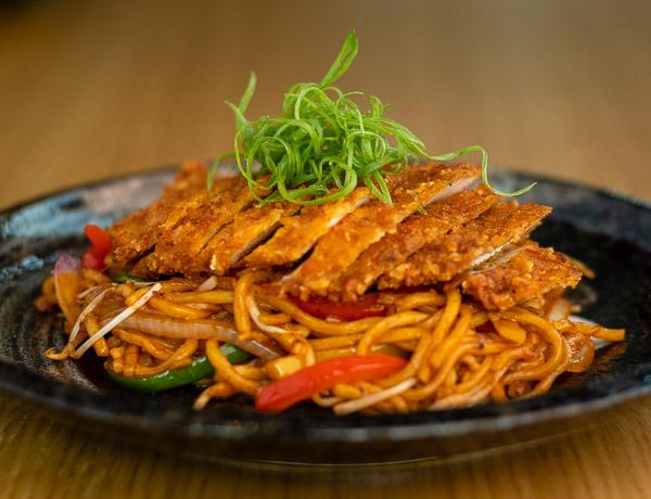 Nummy Chicken Noodles