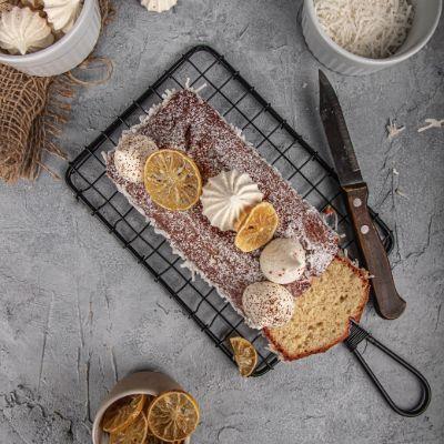 Coconut Tea Cake Loaf ( Egg ) 350 G