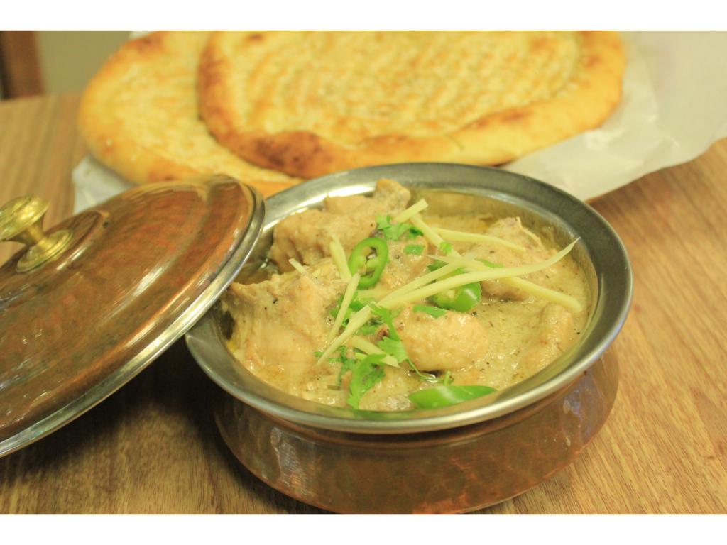 Chicken White Karahi (Half kg)
