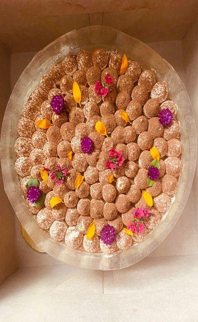 1 KG Tiramisu Cake (Can be made eggless)