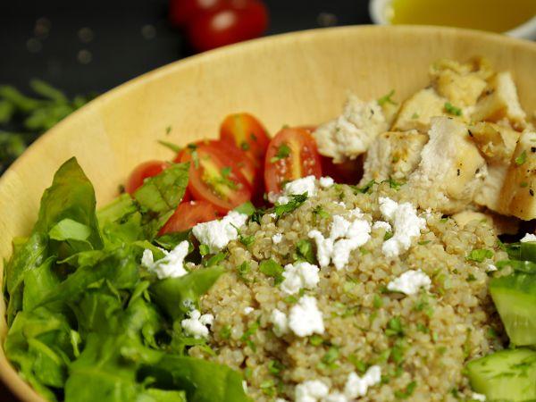 Quinoa and Chicken Salad