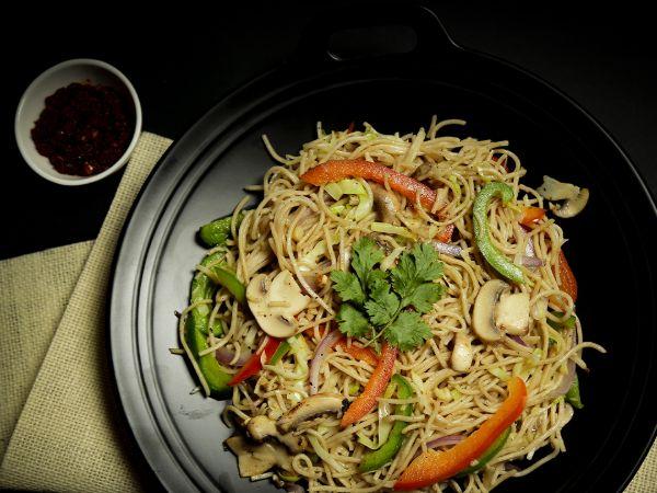 Veg Quinoa millet noodles
