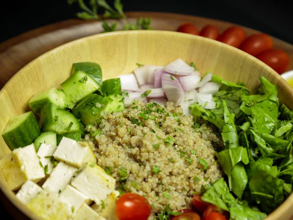 Quinoa and Tofu Salad