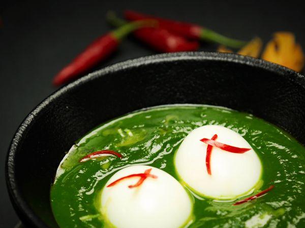 Palak Egg