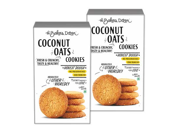 Coconut Oats Cookies - Pack of 2