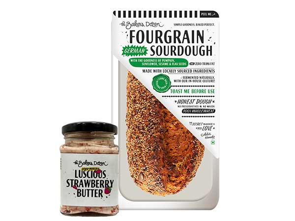 Fourgrain + Strawberry Butter