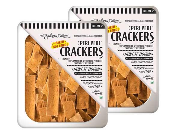 Peri Peri Crackers - Pack of 2