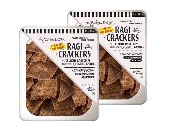 Ragi Crackers - Pack of 2