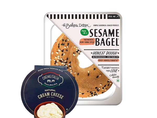 Bagel + Cream Cheese