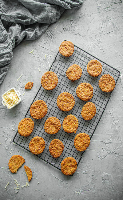 Herbed Cheese Cookies/Crackers