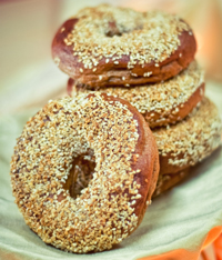 Sesame Brown bagels