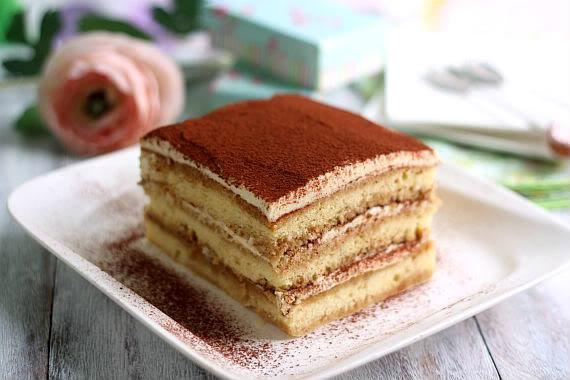 Tiramisu Pastry