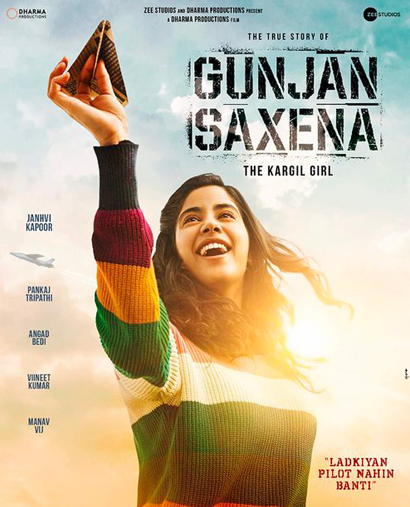 Gunjan Saxena: The Kargil Girl Poster