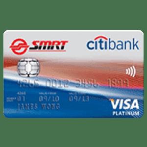 Citibank SMRT EZ-LINK Card