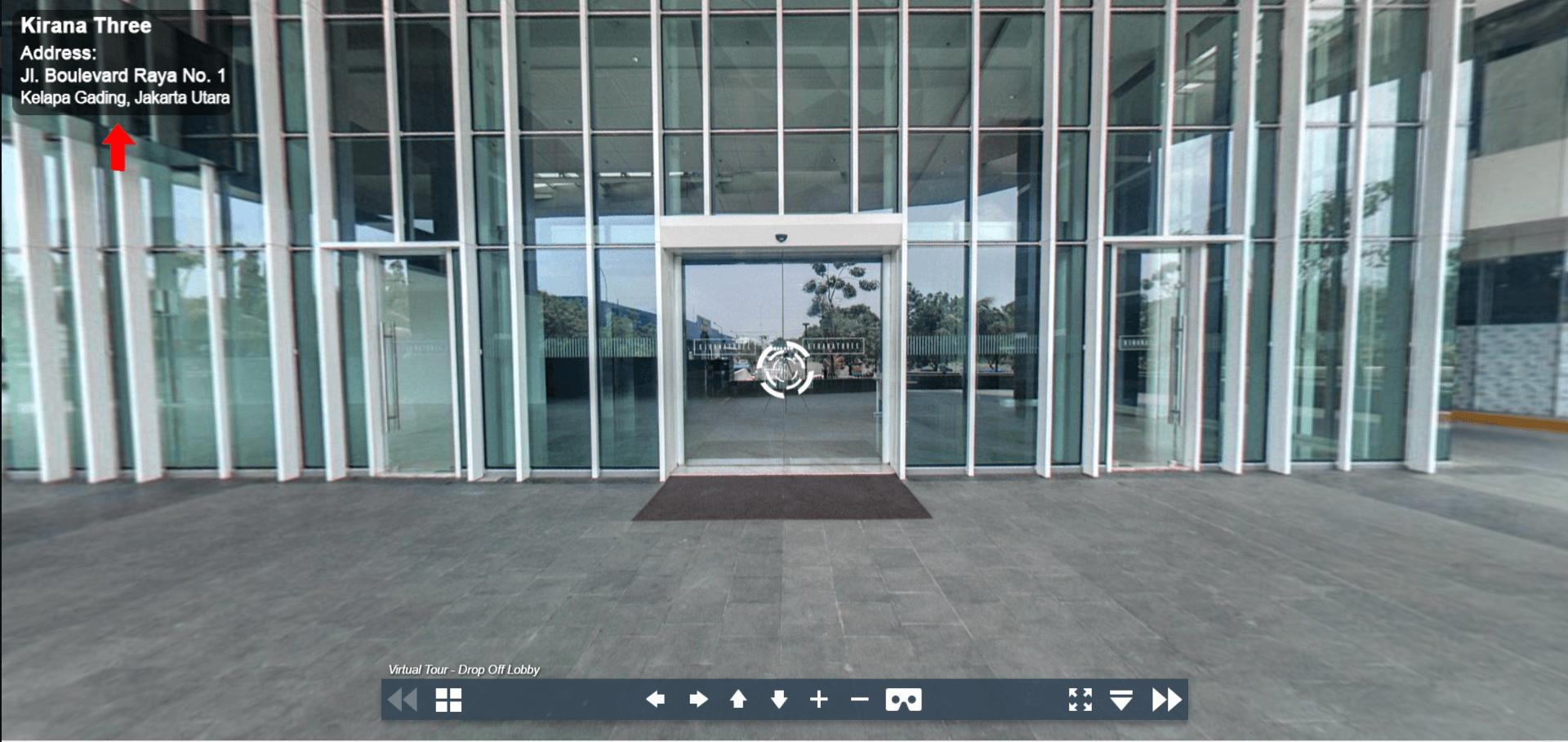 Sewa Kantor Gedung Kirana Three  Jakarta utara Kelapa Gading  Jakarta Virtual Reality