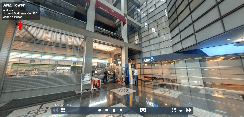 Sewa Kantor Gedung ANZ Tower Jakarta Pusat Tanah Abang Sudirman Jakarta Virtual Reality
