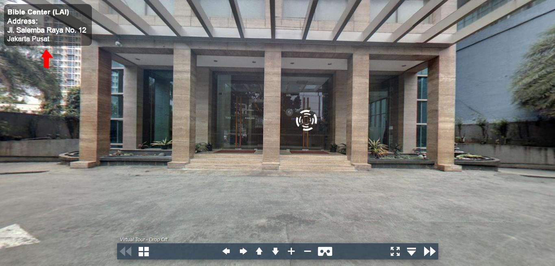 Sewa Kantor Gedung Lembaga Alkitab Indonesia (Bible Center) Jakarta Pusat Senen  Jakarta Virtual Reality