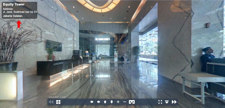 Sewa Kantor Gedung Equity Tower Jakarta Selatan Kebayoran Baru Sudirman Jakarta Virtual Reality