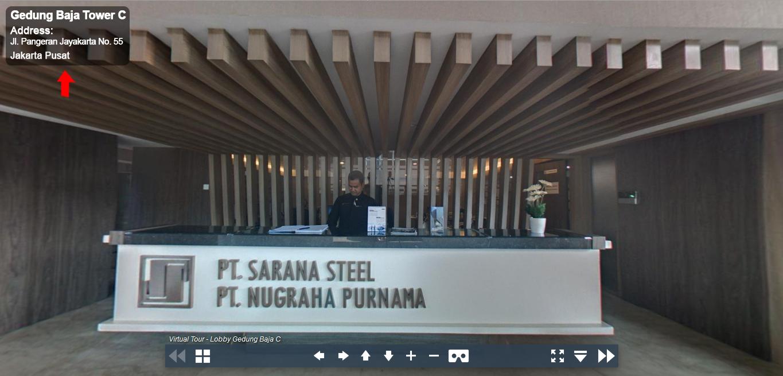 Sewa Kantor Gedung Gedung Baja Tower C Jakarta Pusat Sawah Besar  Jakarta Virtual Reality