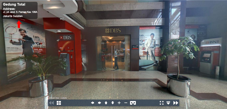 Sewa Kantor Gedung Gedung Total Jakarta Barat Grogol petamburan  Jakarta Virtual Reality