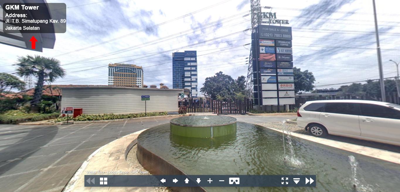Sewa Kantor Gedung GKM Tower Jakarta Selatan Jagakarsa TB Simatupang Jakarta Virtual Reality