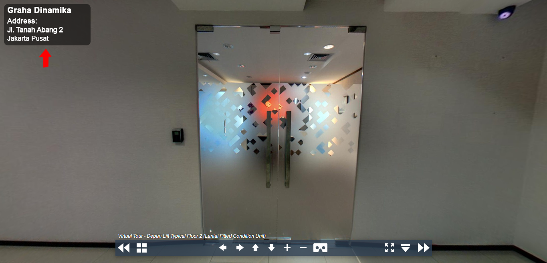 Sewa Kantor Gedung Graha Dinamika Jakarta Pusat Gambir  Jakarta Virtual Reality