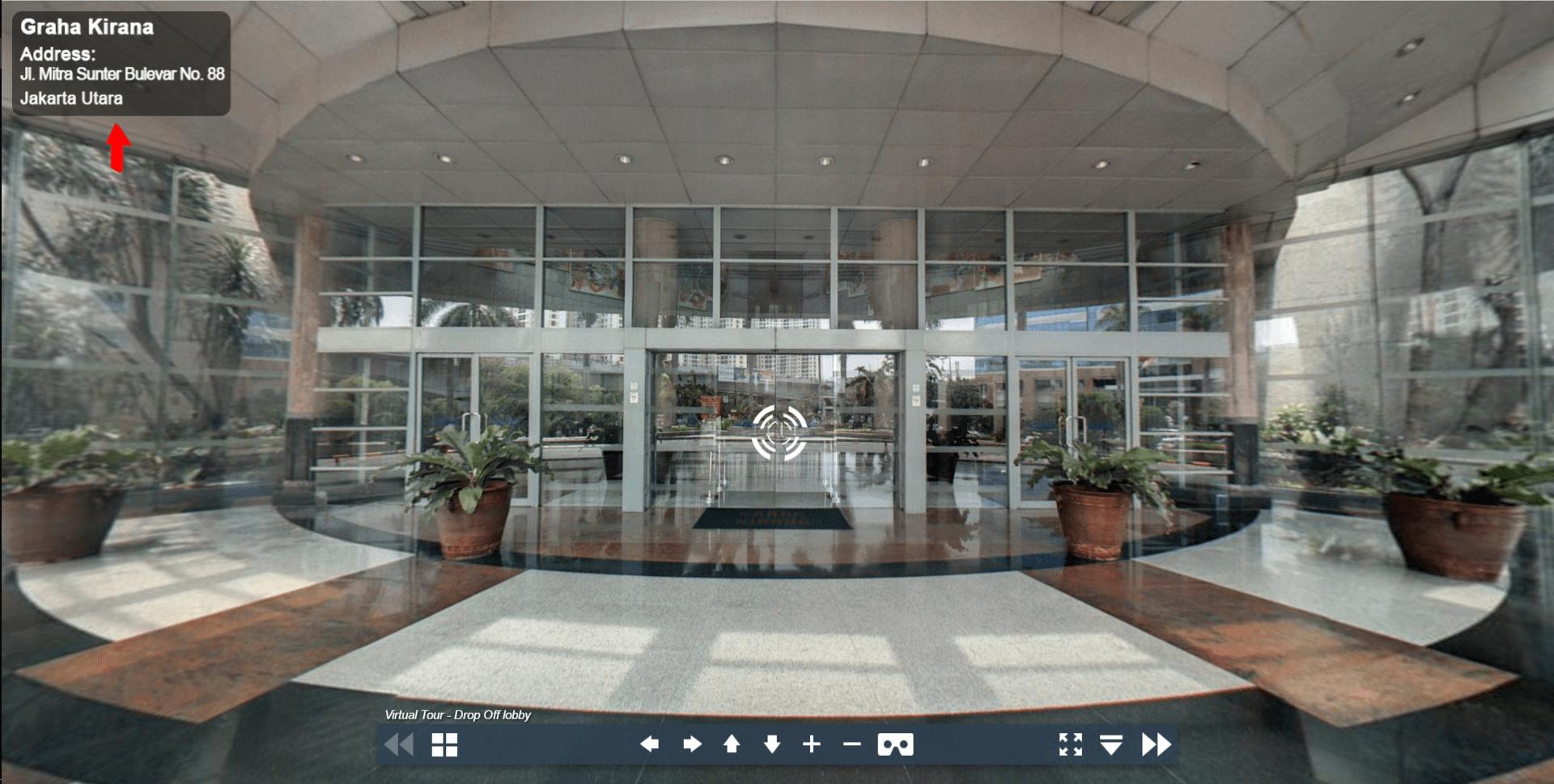 Sewa Kantor Gedung Graha Kirana Jakarta Utara Tanjung Priok  Jakarta Virtual Reality