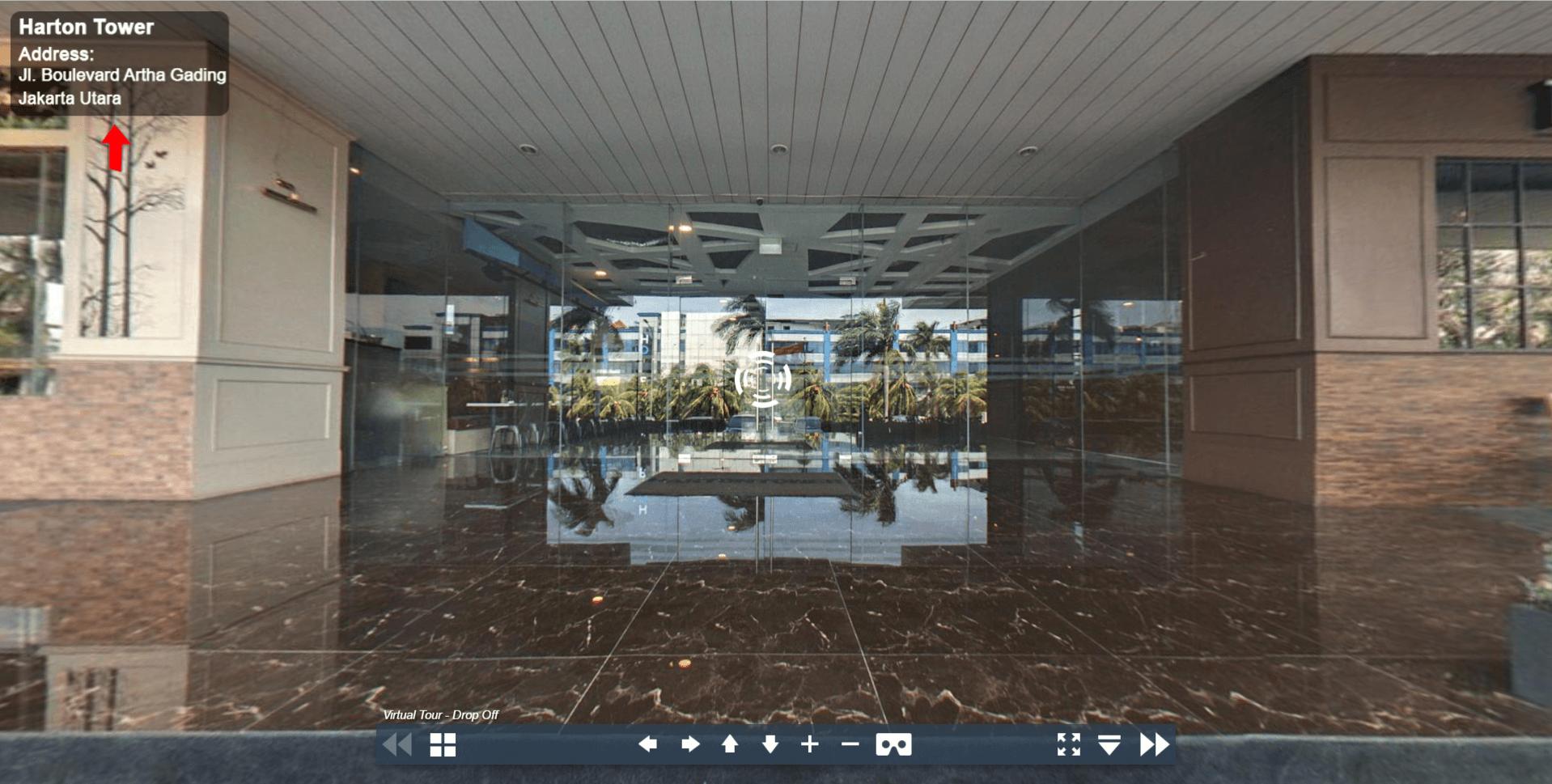 Sewa Kantor Gedung Harton Tower Jakarta utara Kelapa Gading  Jakarta Virtual Reality
