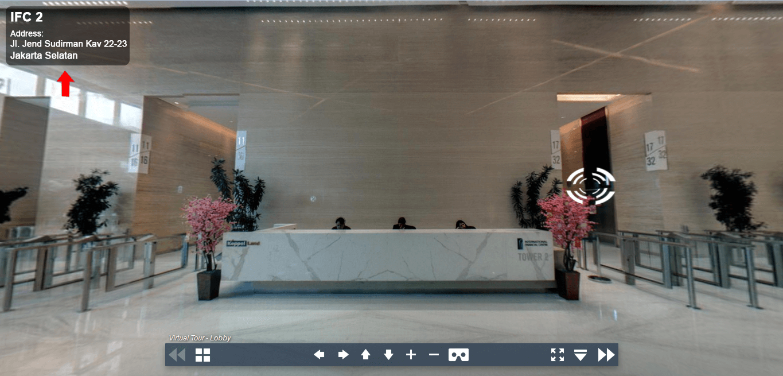 Sewa Kantor Gedung International Financial Center Tower 2 Jakarta Selatan Setiabudi Sudirman Jakarta Virtual Reality