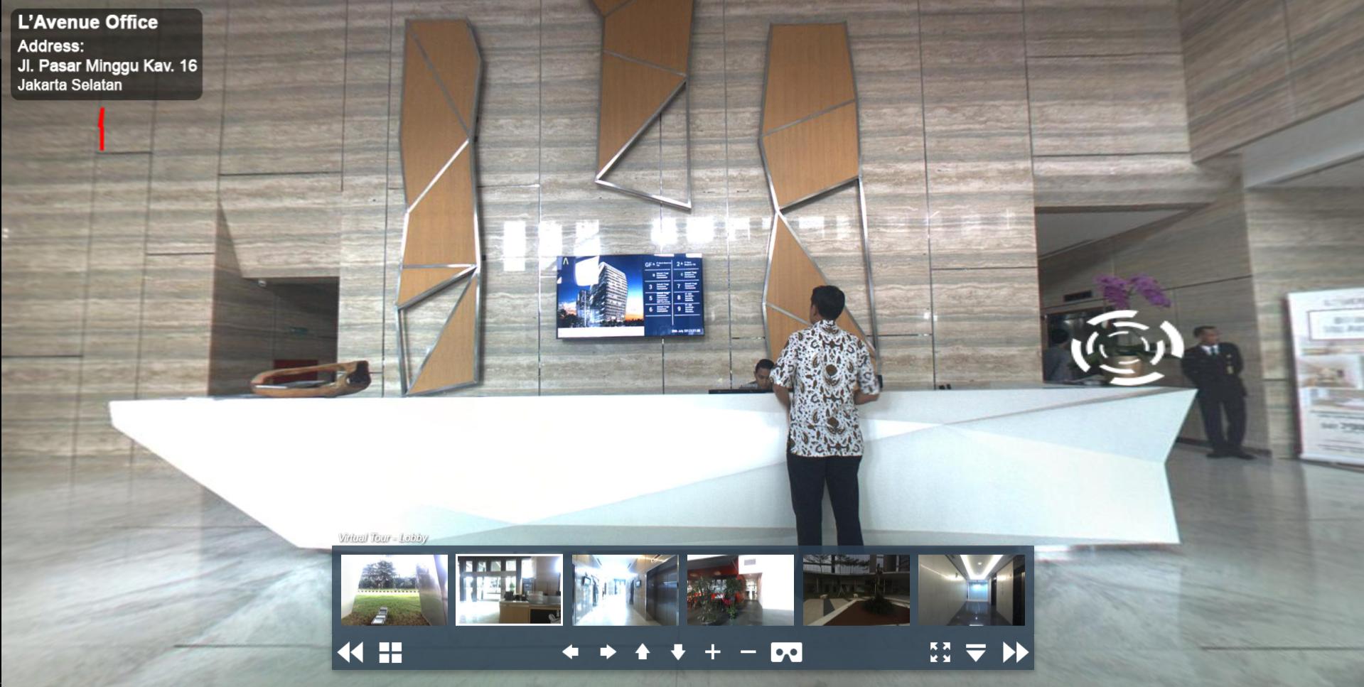 Sewa Kantor Gedung L' Avenue office Jakarta Selatan Pancoran  Jakarta Virtual Reality