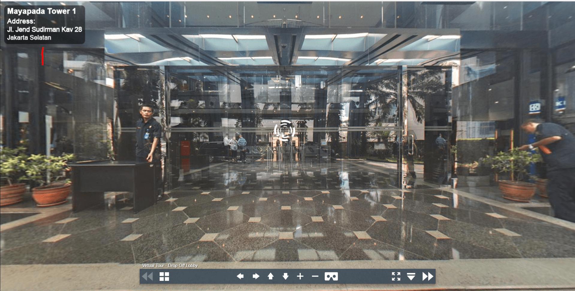 Sewa Kantor Gedung Mayapada Tower 1 Jakarta Selatan Setiabudi Sudirman Jakarta Virtual Reality