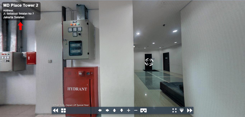 Sewa Kantor Gedung MD Place Tower 2 Jakarta Selatan Setiabudi Kuningan Jakarta Virtual Reality