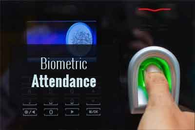 Biometric Attendance System with IoT