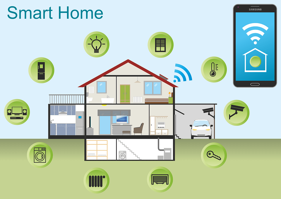 GSM based Home Automation System with IoT